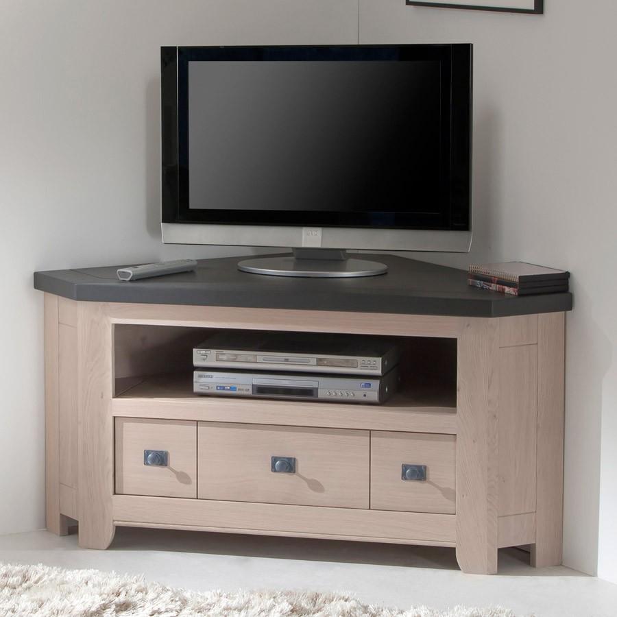 meuble tv 2 portes whitney