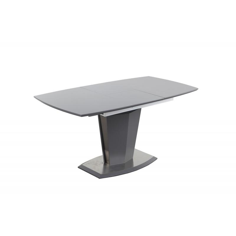 table de repas extensible 120 a 160 cm rectangulaire dona