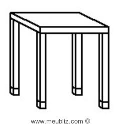 table de salon a hauteur d appui