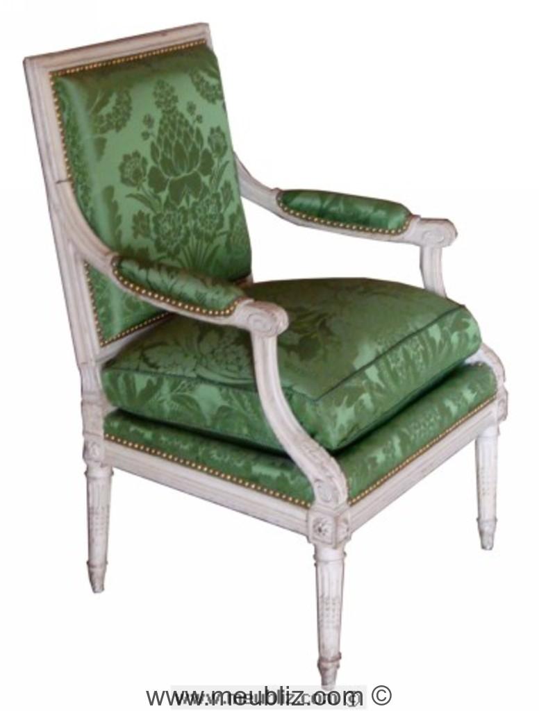 fauteuil a la reine louis xvi decor