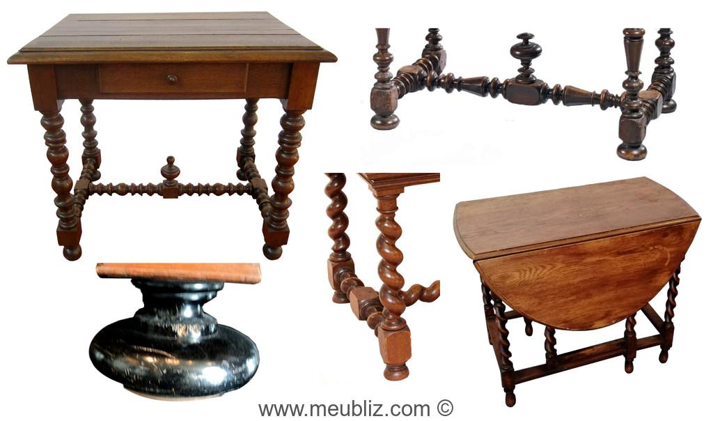 reconnaitre une table louis xiii