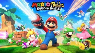 Mario Rabbids Kingdom Battle Nitendo Switch
