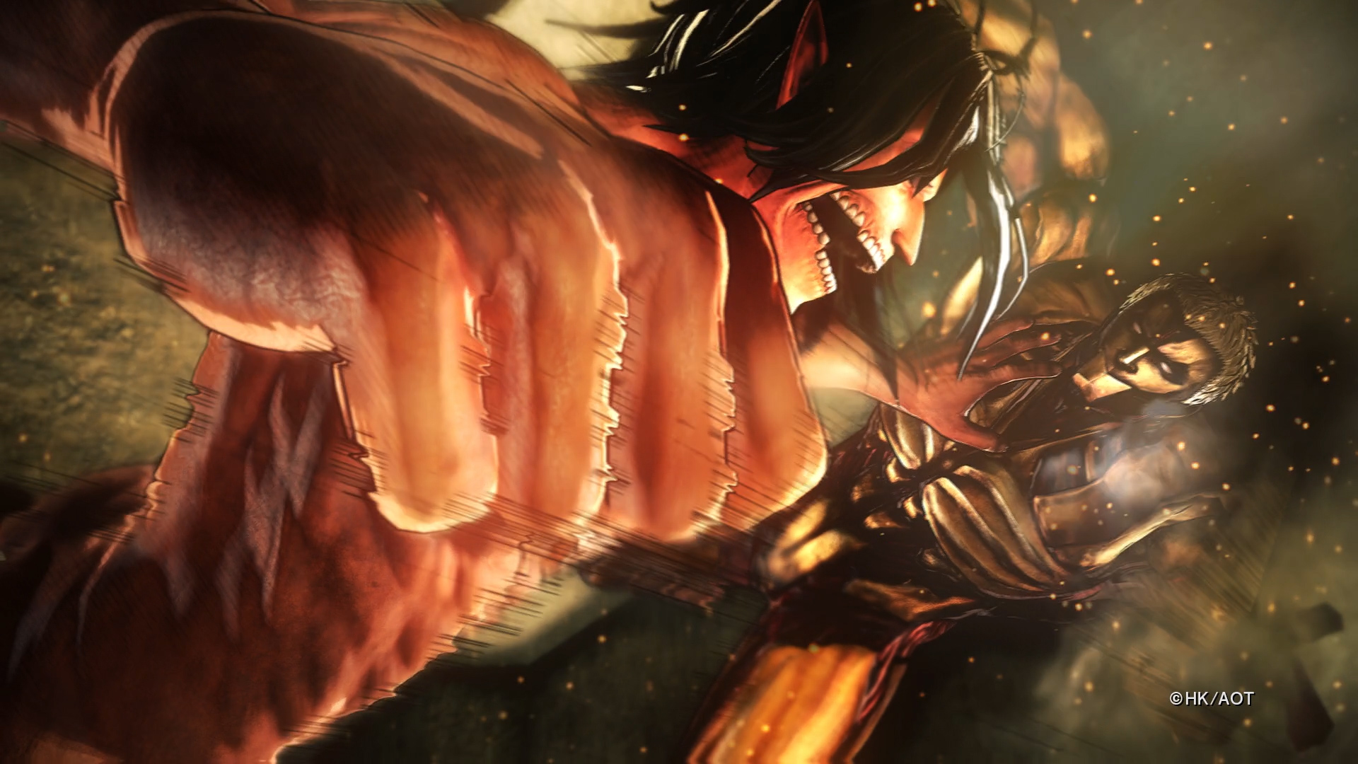 Attack on Titan 2: Caos no Switch