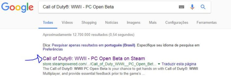 Call of Duty®: WWII - PC Open Beta google