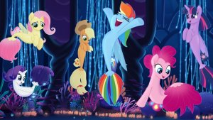 """Image from the movie """"My Little Pony: O Filme"""""""