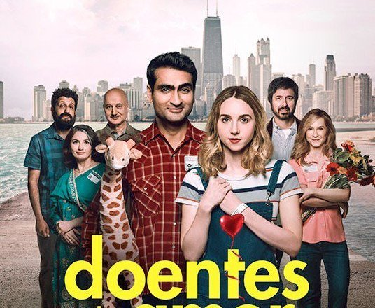 "Poster for the movie ""Doentes de Amor"""