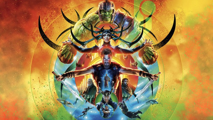 "Image from the movie ""Thor: Ragnarok"""