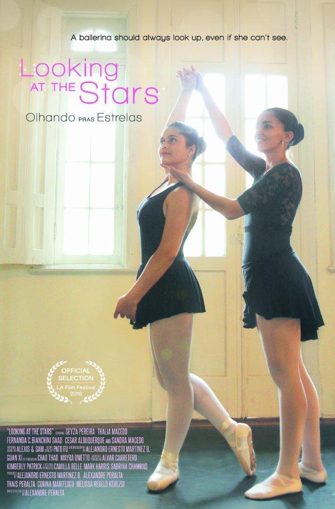 """Poster for the movie """"Olhando pras Estrelas"""""""