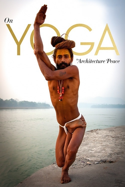 """Poster for the movie """"Yoga arquitetura da paz"""""""