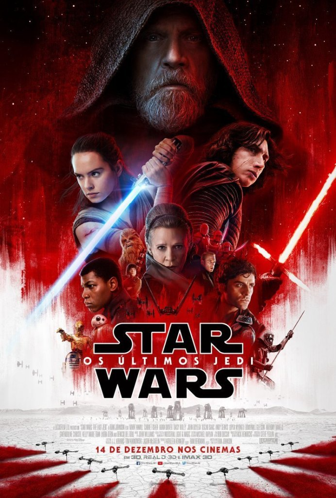 © 2017 Lucasfilm - Star Wars: Os Últimos Jedi − Todos os direitos reservados.