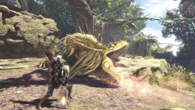 Monster Hunter World Gameplay