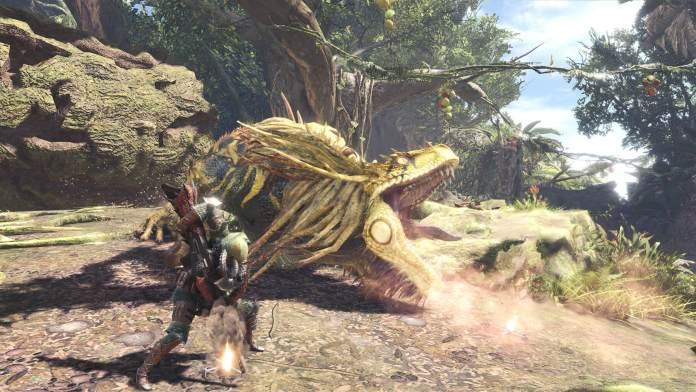 Monster Hunter World Gameplay