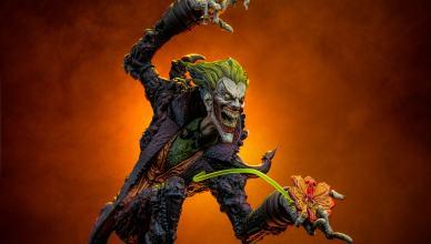 Coringa Gotham City Nightmare: É revelada nova estátua para a coleção