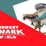 Hungry Shark World os tubarões invadindo seu console