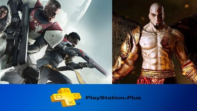 Playstation Plus Setembro 2018, destaque para Destiny 2 e God of War