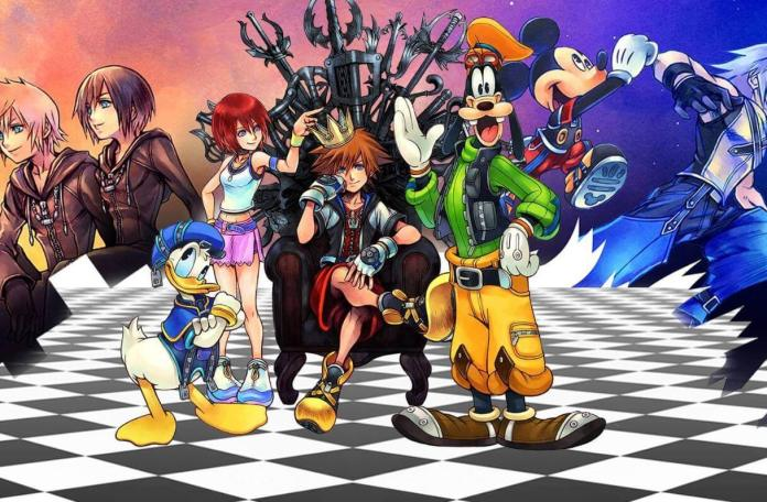 Square Enix: Anuncia pacote com 9 jogos de Kingdom Hearts