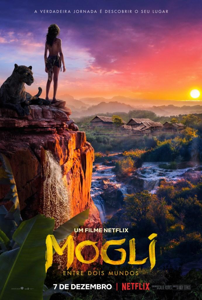 Pôster de Mogli – Entre Dois Mundos / Divulgação Netflix