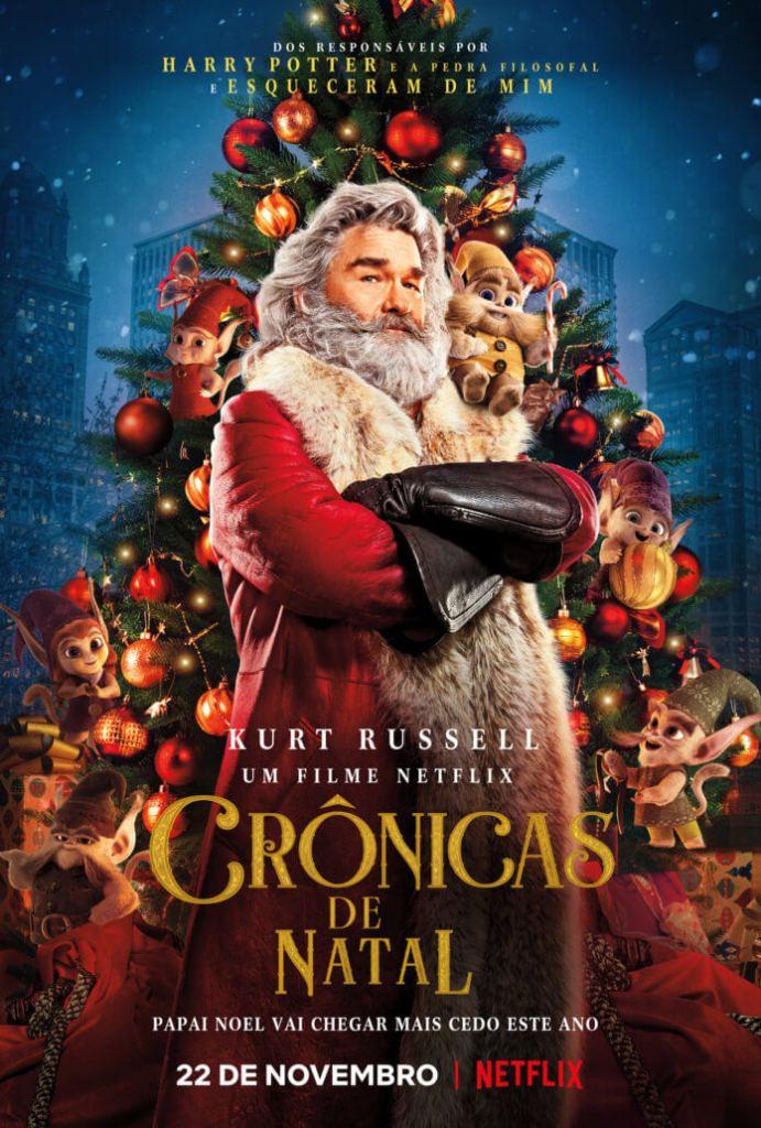 Pôster: Crônicas de Natal Netflix