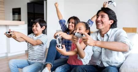 Videogame Família diversidade