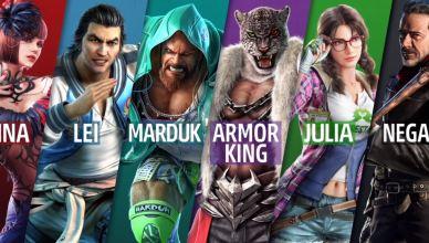 Tekken 7 recebe Armor King e Craig Marduk nesta segunda-feira (03), confira!
