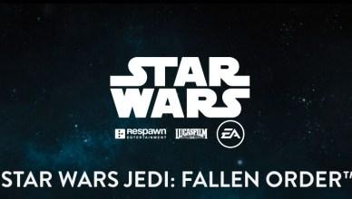 Star Wars: Jedi Fallen Order tem logo marcante
