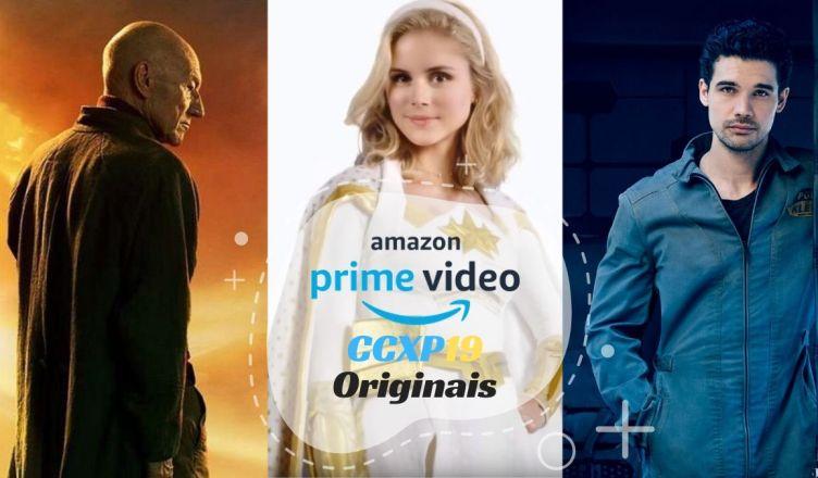 Amazon confirma presença de séries originais The Boys, The Expanse e Star Trek: Picard na CCXP 2019