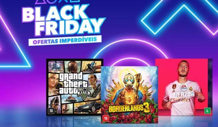 Sony divulga ofertas para o Black Friday 2019 da PSN