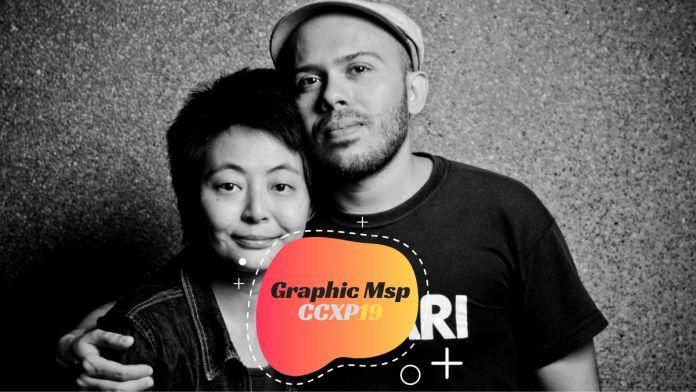 Cristina Eiko e Paulo Crumbim da Graphic MSP Penadinho confirmados na CCXP19