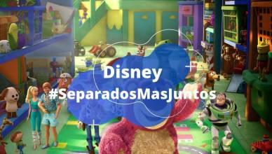 Disney lança campanha #SeparadosMasJuntos contra o coronavírus
