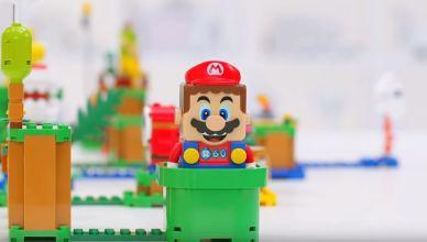 Nintendo revela jogo de tabuleiro LEGO Super Mario e trailer