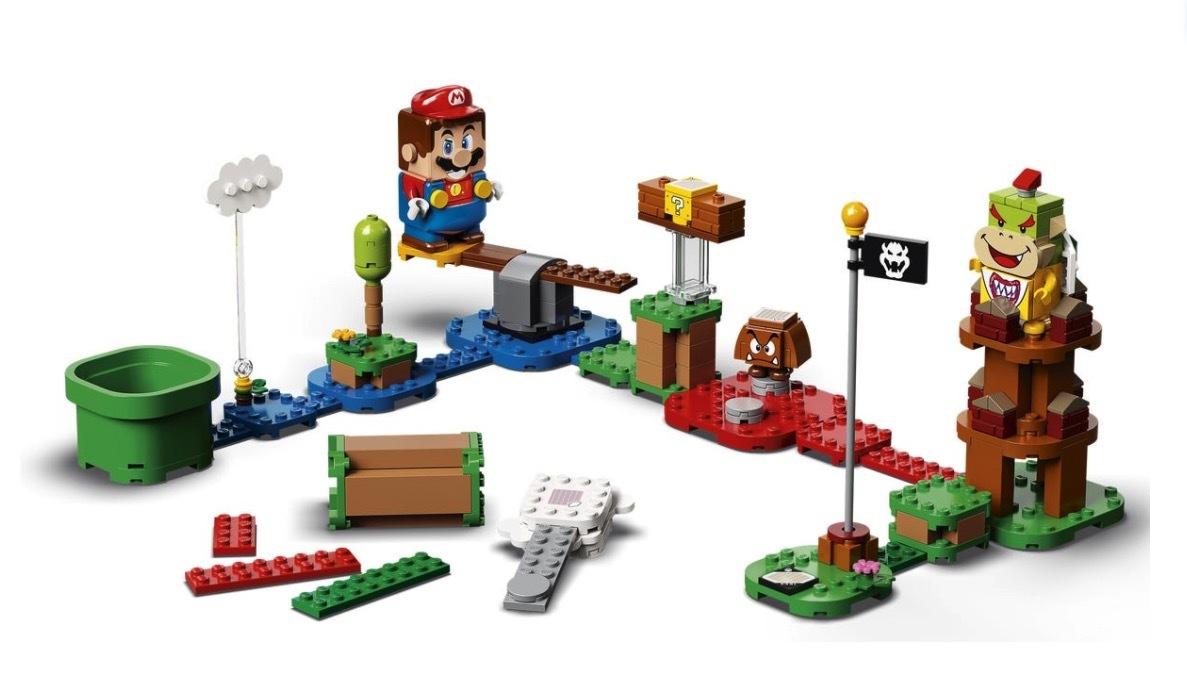 Super Mario Lego recebe data para lançamento
