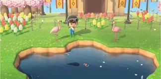 Pesca em Animal Crossing: New Horizons