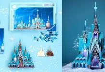 """Disney Castle Collection: Divulgada propaganda do castelo de """"Frozen"""""""