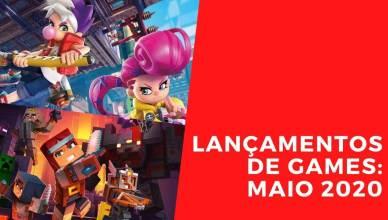 Lançamentos de Games: Maio de 2020 traz Minecraft Dungeons e Ninjala
