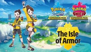 """Pokémon """"The Isle of Armor"""" , expansão de Pokémon Sword & Shield chegou!"""