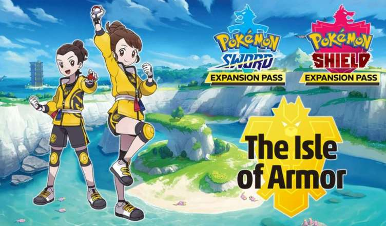 "Pokémon ""The Isle of Armor"" , expansão de Pokémon Sword & Shield chegou!"