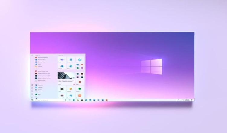 Novo design do menu iniciar do Windows 10 revelado