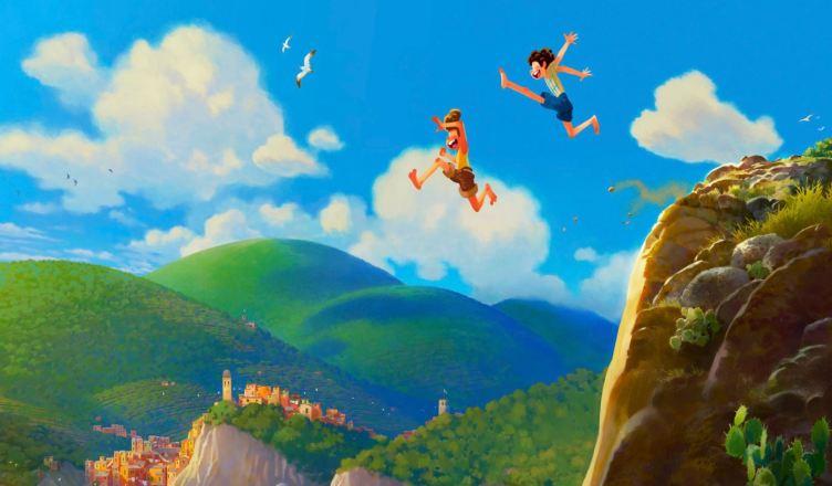 """""""LUCA"""" nova animação da Pixar será lançado no Brasil em junho de 2021"""