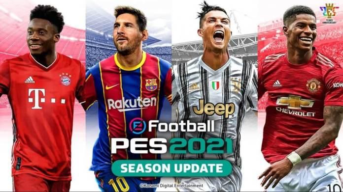 Capa de eFootball PES 2021 é revelada