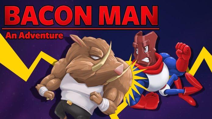Bacon Man já disponível no Nintendo Switch