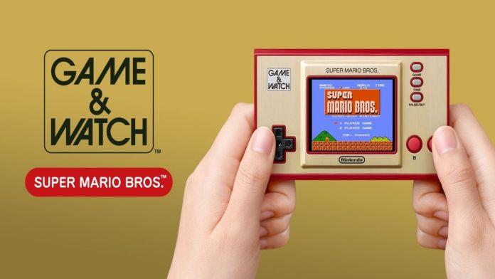 A Nintendo está prestes a lançar um novo Game & Watch
