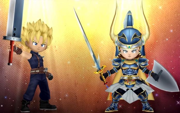 Confirmado crossover entre Dissidia Final Fantasy e Dragon Quest of The Stars