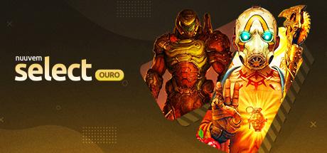 2 jogos Nuuvem Select Ouro por R$ 99,99