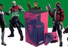 Microsoft está oferecendo um Xbox Series de Marvel's Guardians of the Galaxy