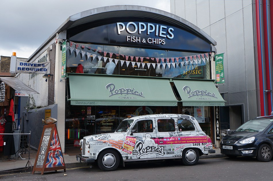 Poppies Fish and Chips Camden