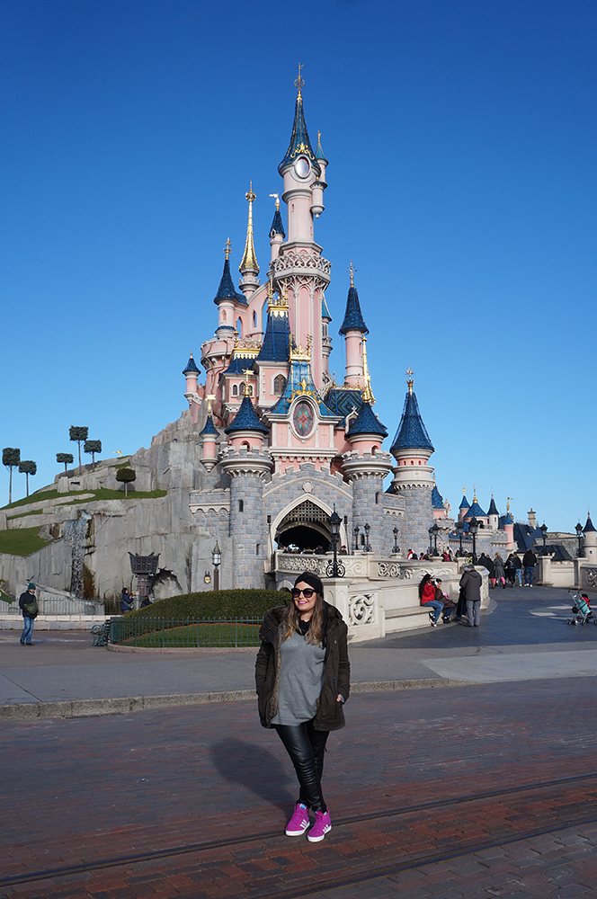 Disneyland Paris Castelo