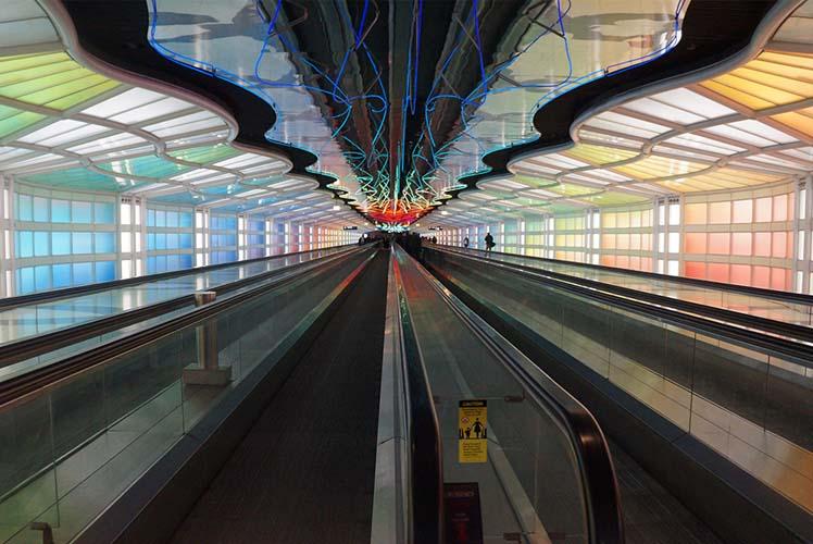 capa Aeroporto Internacional O'Hare  - Chicago