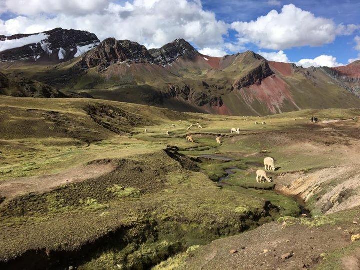 Trajeto de Subida da montanha de 7 cores | Arquivo pessoal