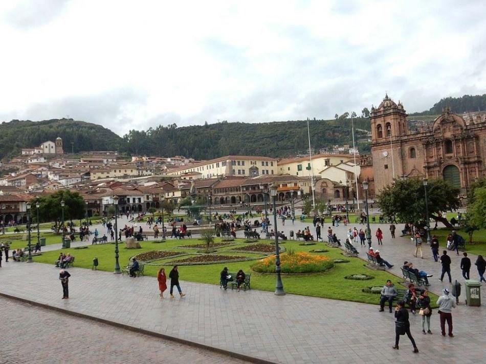 Plaza das Armas | Arquivo pessoal