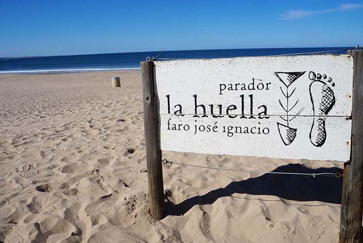 Capa La Huella - José Ignacio - Uruguai